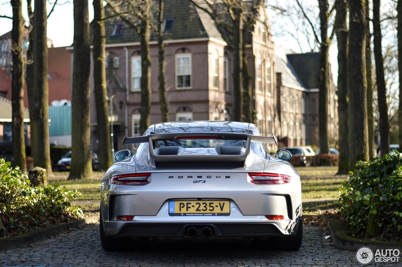 Porsche 991 GT3 MKII 1