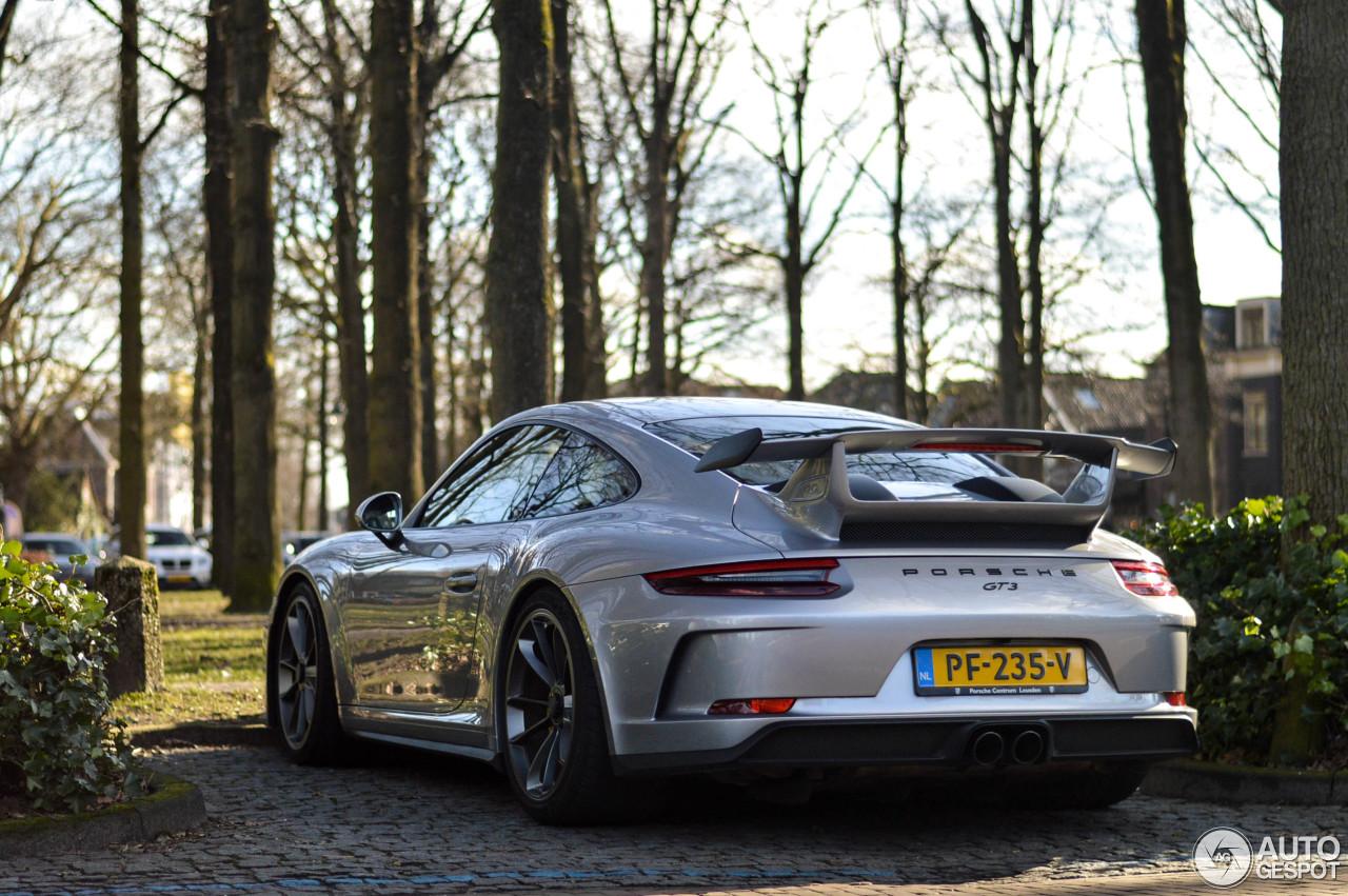 Porsche 991 GT3 MKII 2