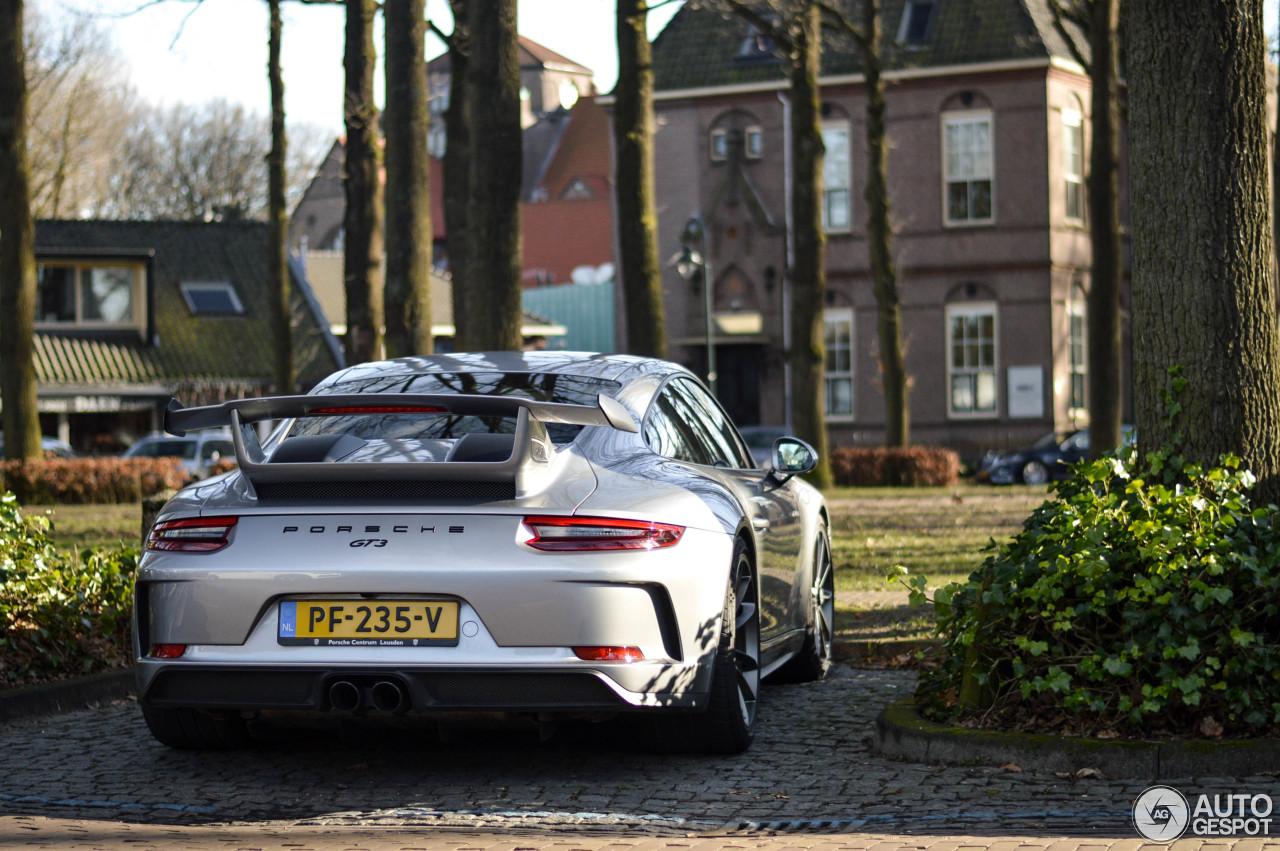 Porsche 991 GT3 MKII 4