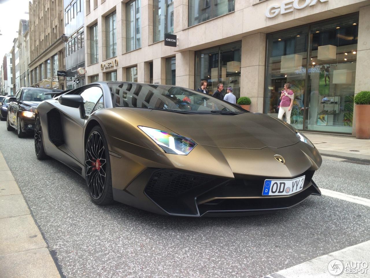 Lamborghini Aventador LP750-4 SuperVeloce 10