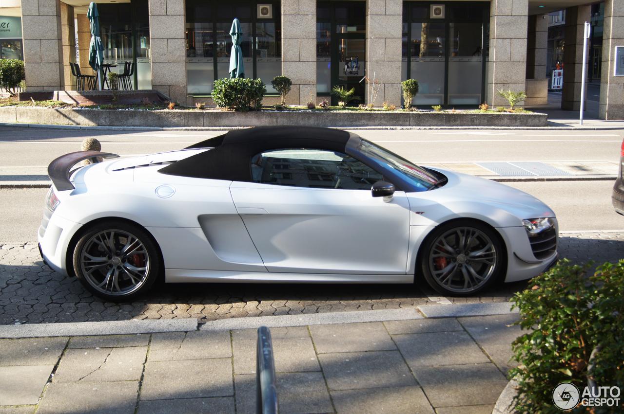 Audi R8 GT Spyder - 14 February 2018 - Autogespot