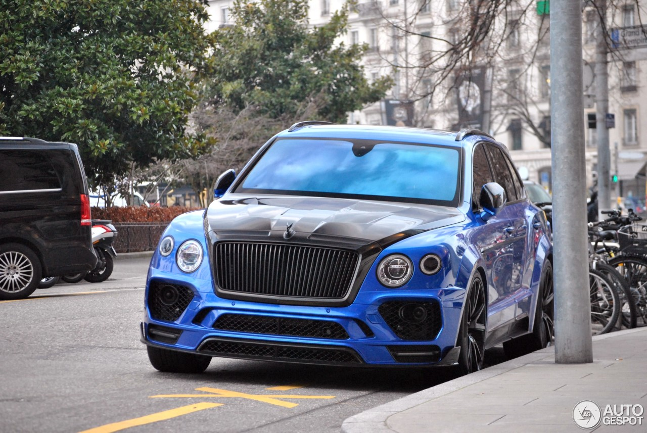 bentley mansory bentayga 14 february 2018 autogespot. Black Bedroom Furniture Sets. Home Design Ideas