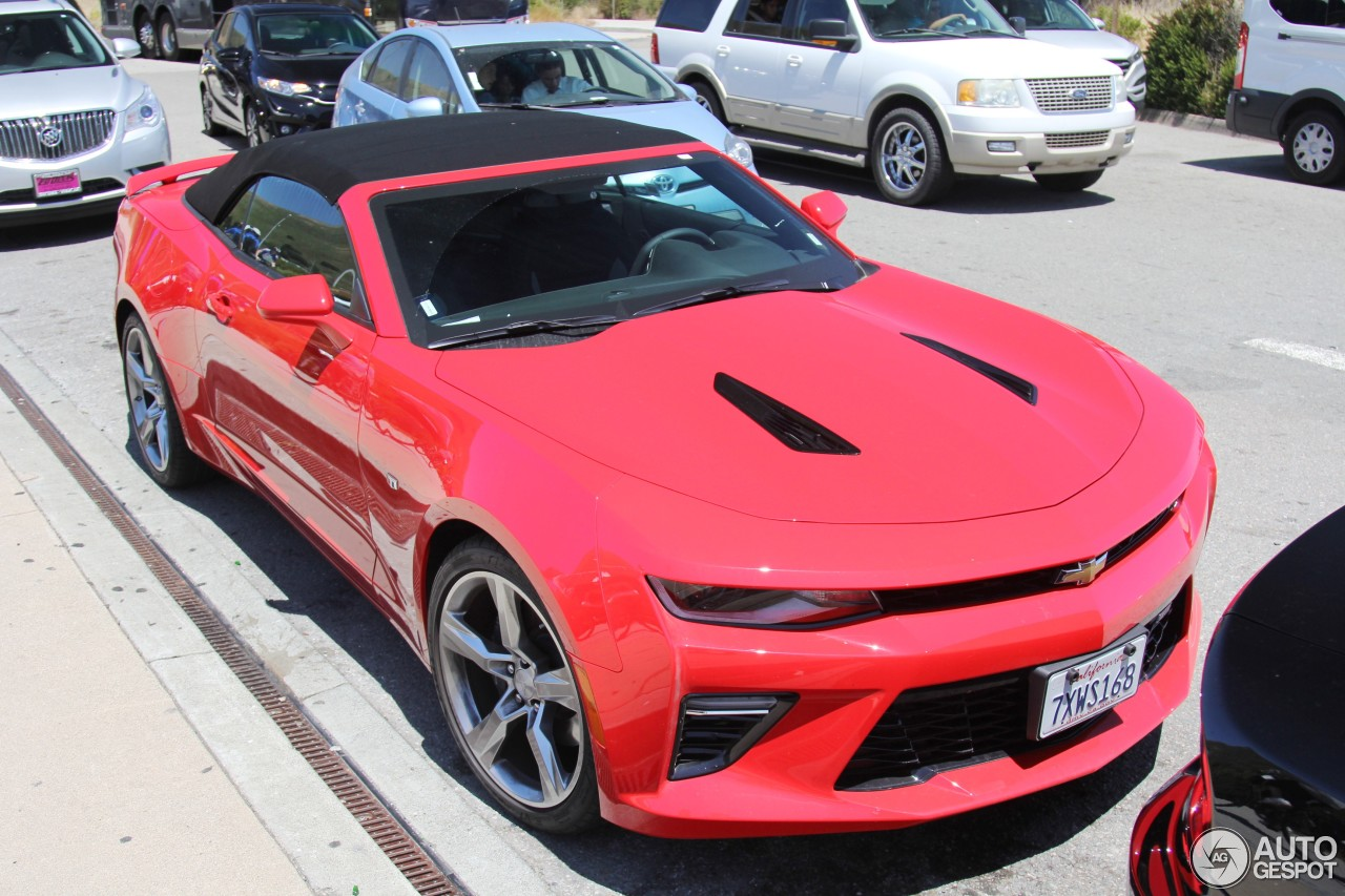 Chevrolet Camaro Ss Convertible 2016 14 February 2018 Autogespot