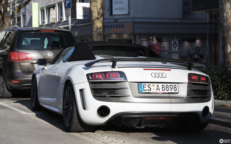 Audi R GT Spyder February Autogespot - Audi r8 gt