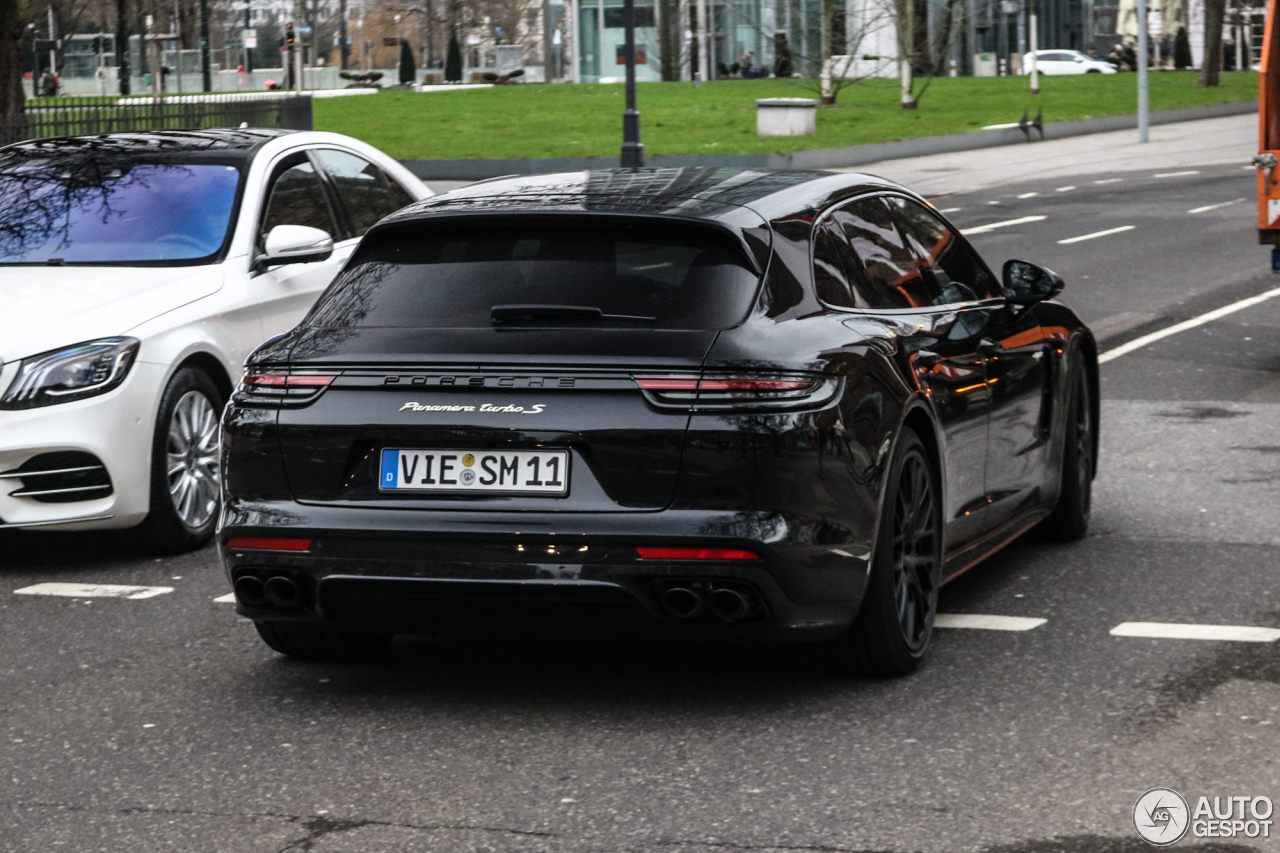 Porsche Panamera Turbo All Black Supercars Gallery