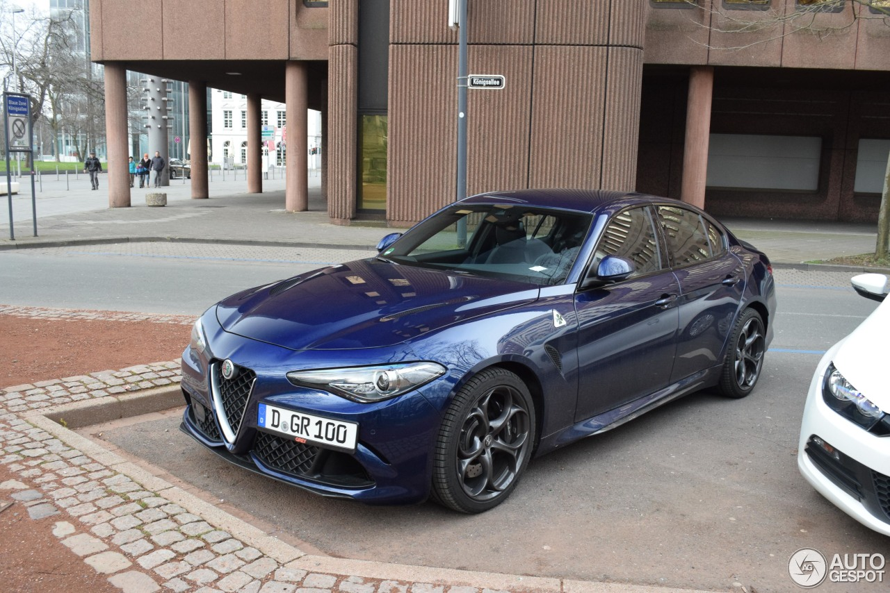 alfa romeo giulia quadrifoglio 17 february 2018 autogespot. Black Bedroom Furniture Sets. Home Design Ideas