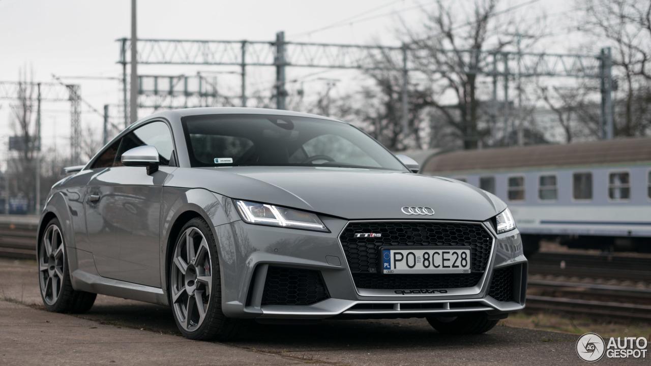 Audi TT-RS 2017 - 17 February 2018 - Autogespot