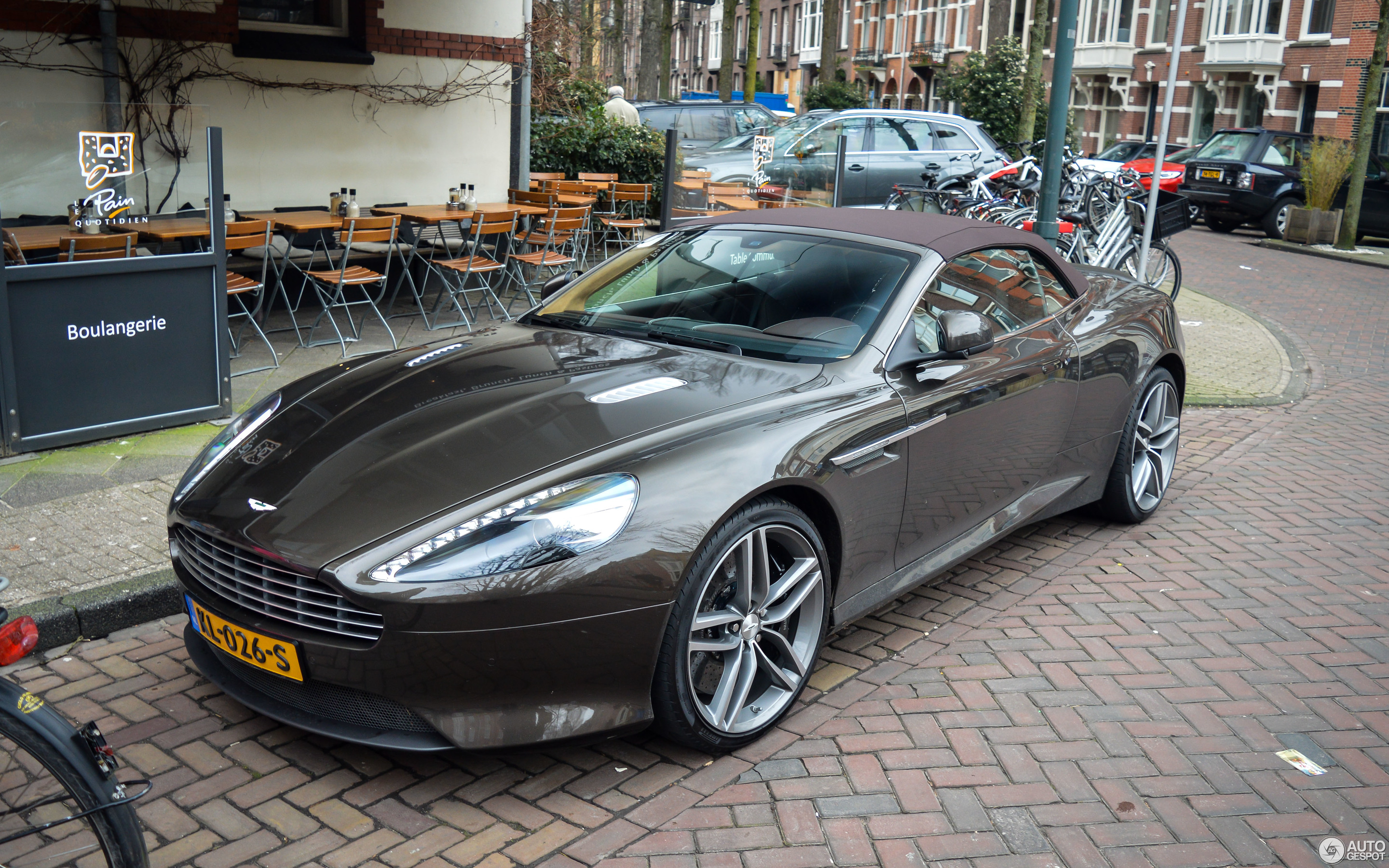 Aston Martin DB Volante February Autogespot - 2018 aston martin db9