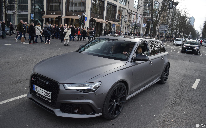 Audi RS Avant C February Autogespot - Audi rs6 2018