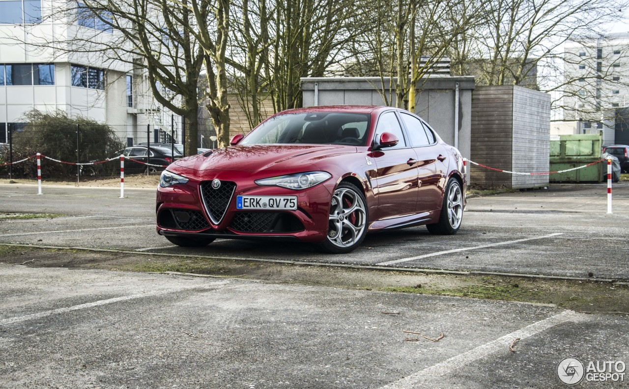 alfa romeo giulia quadrifoglio 18 february 2018 autogespot. Black Bedroom Furniture Sets. Home Design Ideas