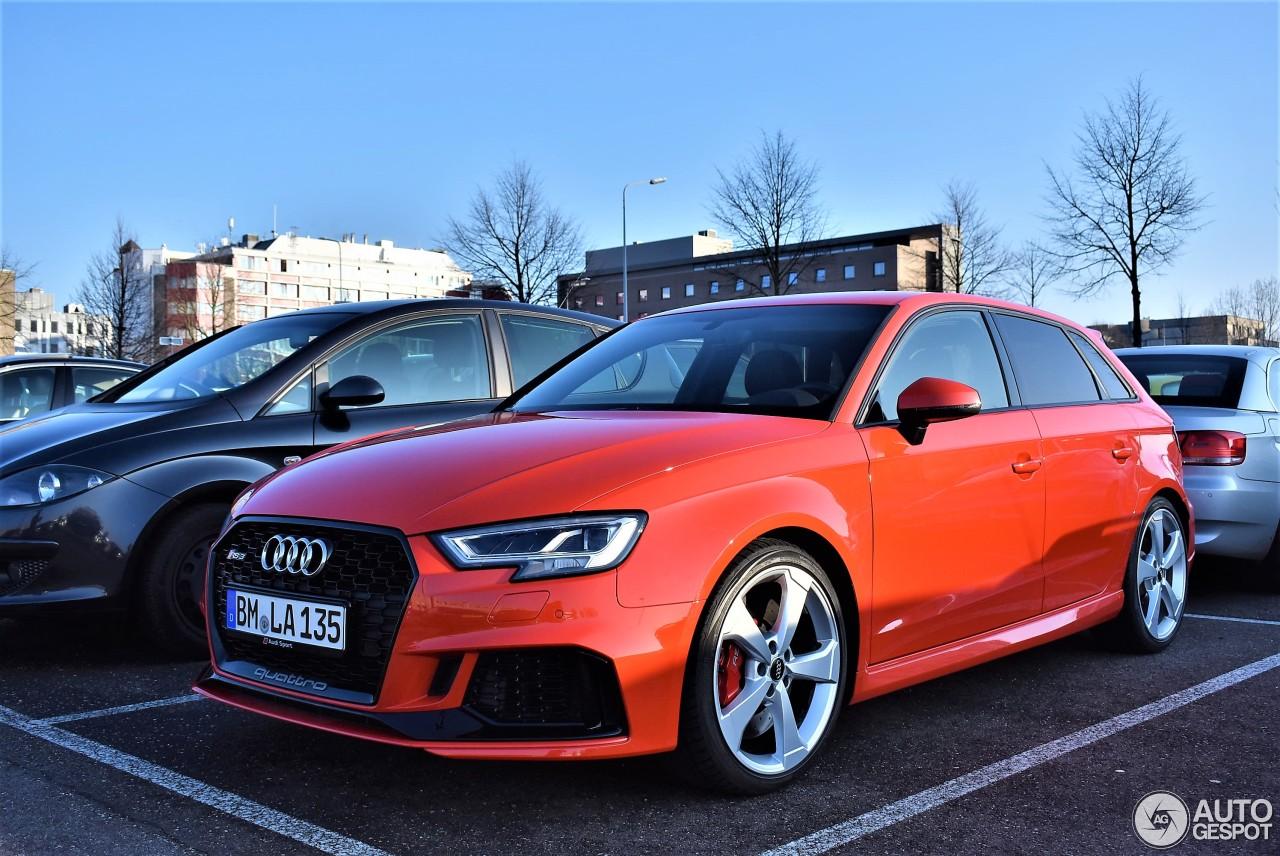 Audi RS3 Sportback 8V 2018 1