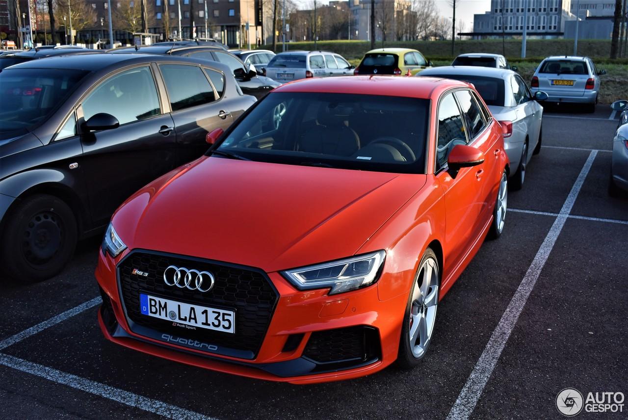 Audi RS3 Sportback 8V 2018 3