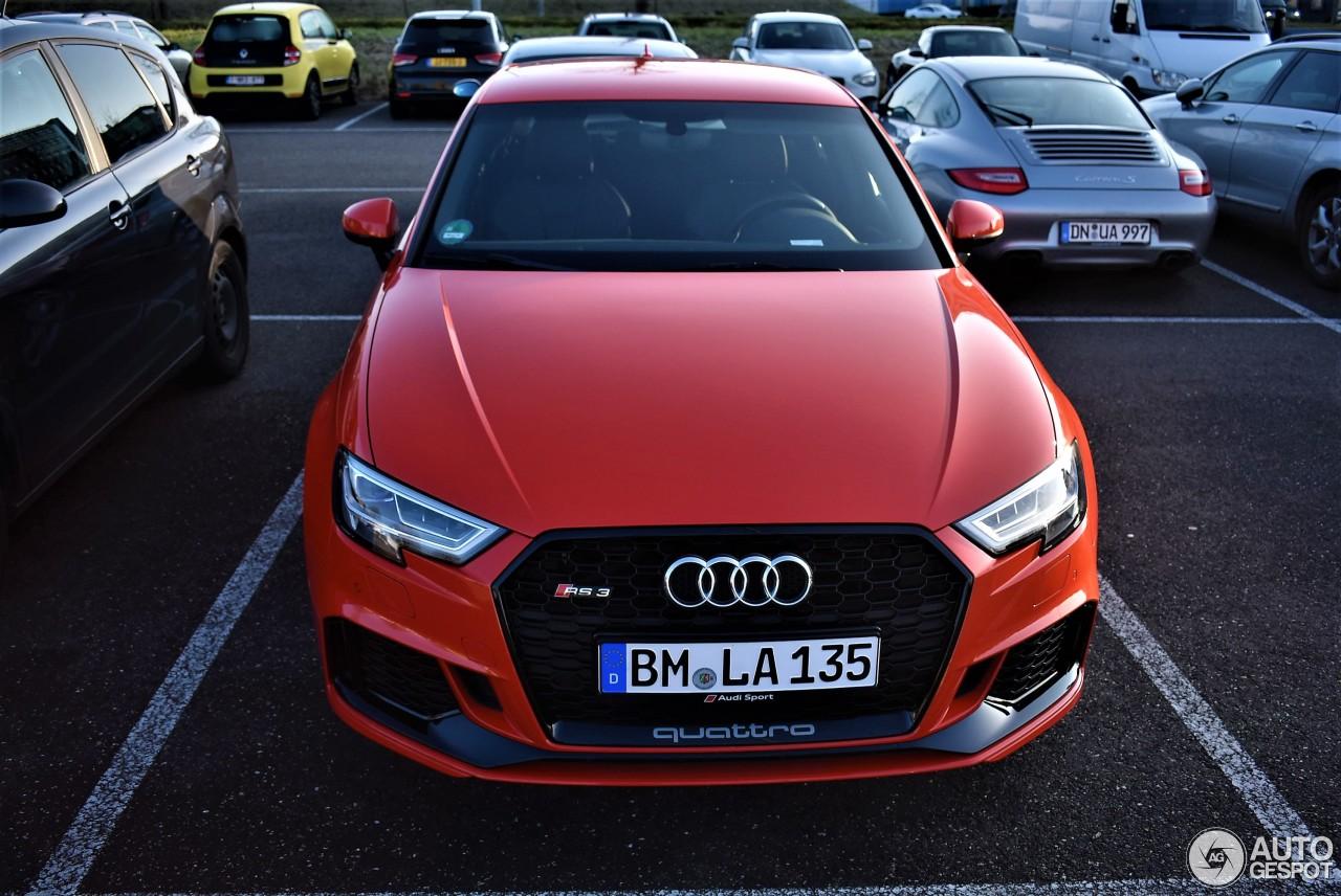 Audi RS3 Sportback 8V 2018 4