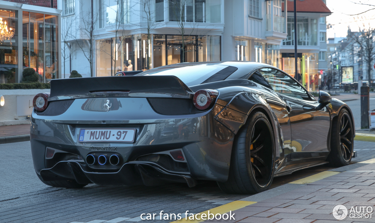 ferrari 458 italia liberty walk widebody 19 february 2018 autogespot. Black Bedroom Furniture Sets. Home Design Ideas