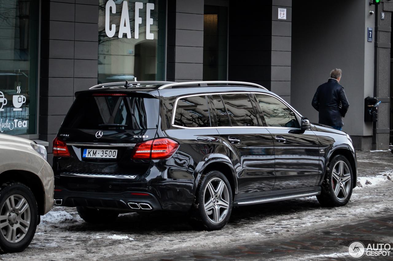 Mercedes Amg Gls 63 X166 20 February 2018 Autogespot