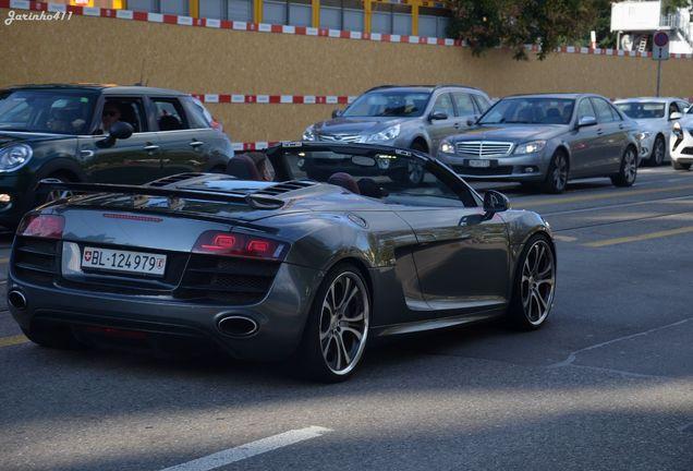 Audi R8 V10 Spyder Fab Design