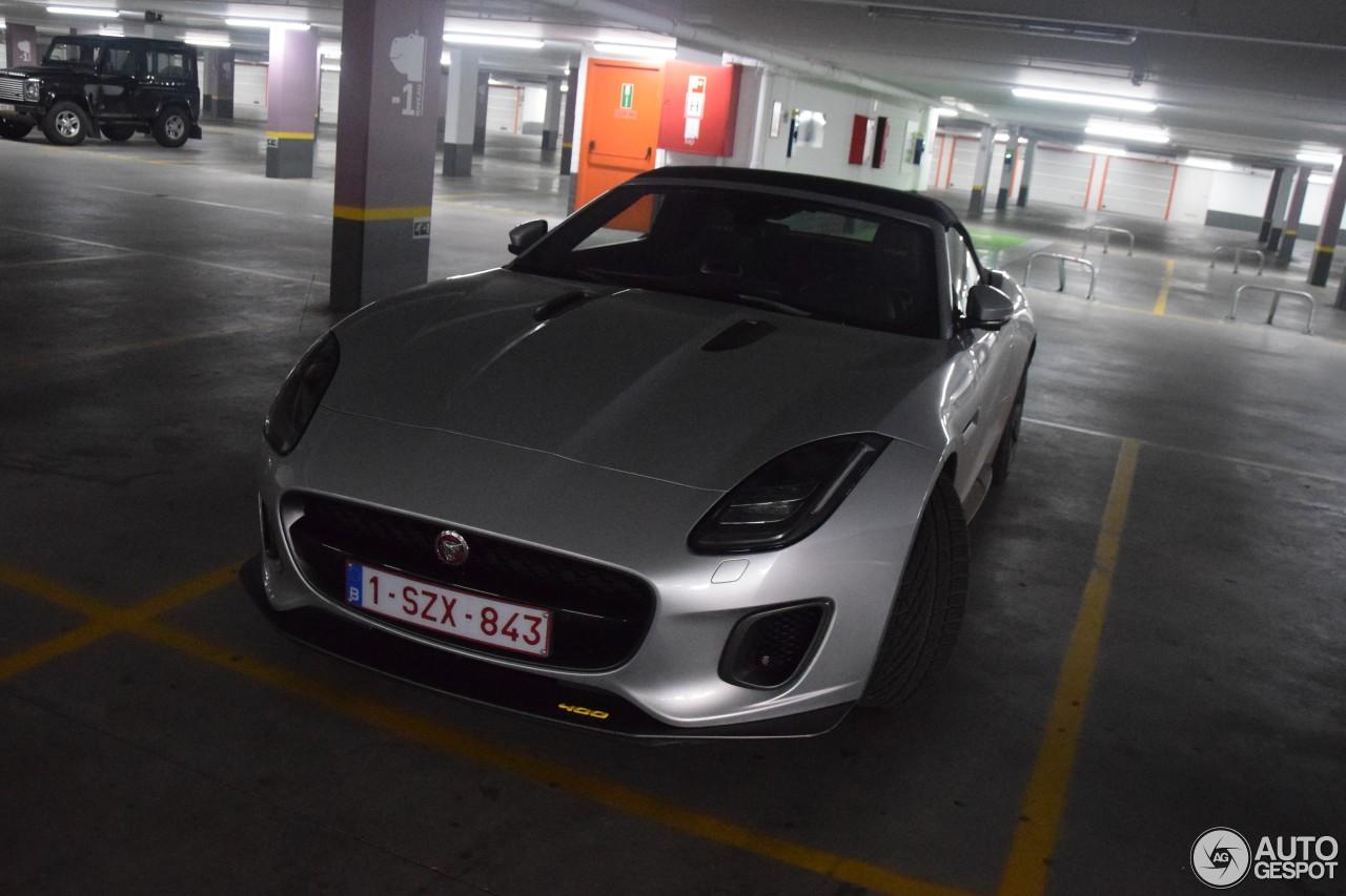 jaguar f type 400 sport convertible 21 february 2018 autogespot. Black Bedroom Furniture Sets. Home Design Ideas