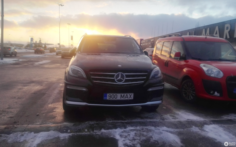 Mercedes Benz Ml 63 Amg W166 21 February 2018 Autogespot