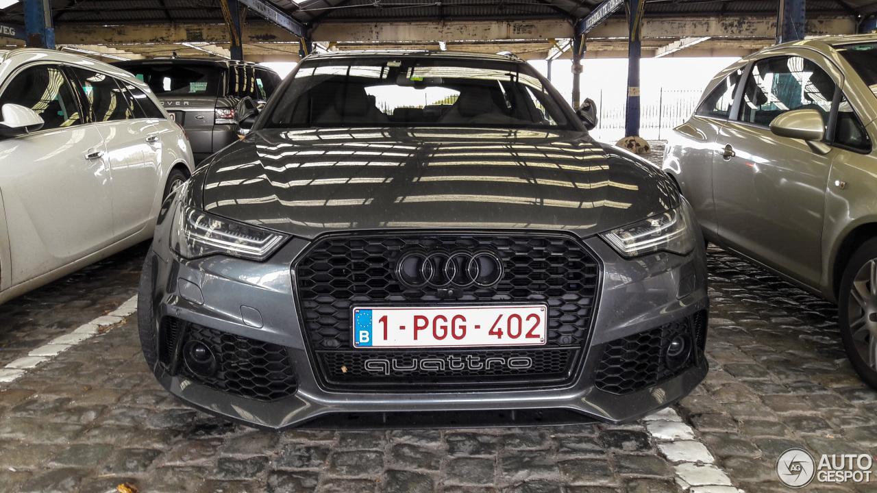 Audi rs6 avant 600 hp