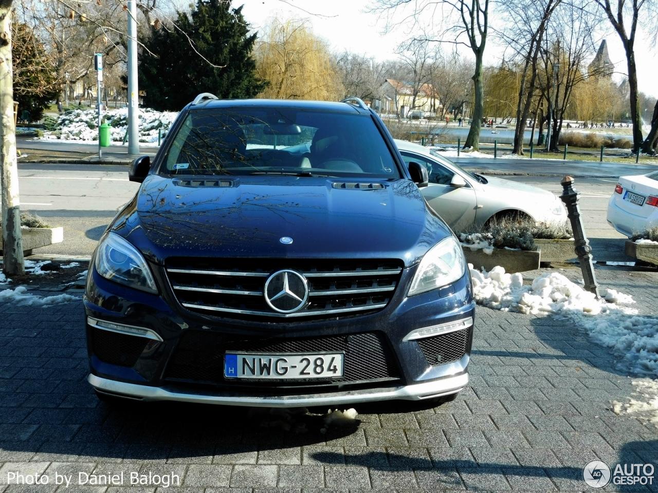 Mercedes Benz Ml 63 Amg W166 22 February 2018 Autogespot