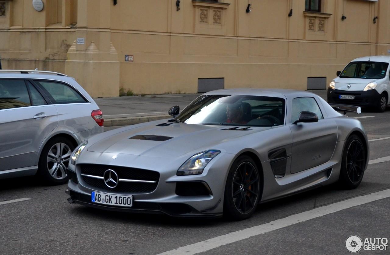 Mercedes-Benz SLS AMG Black Series 1