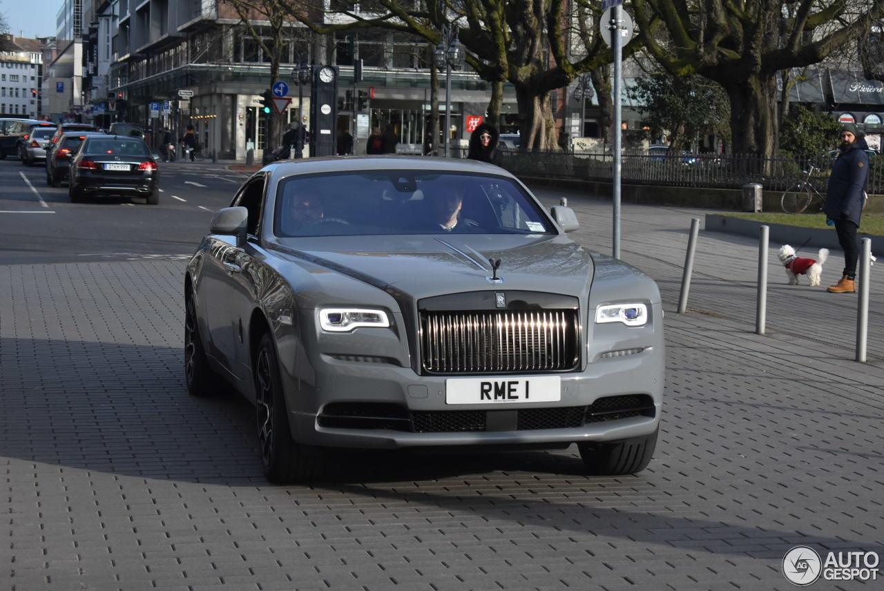 Rolls Royce Wraith Black Badge 24 February 2018 Autogespot