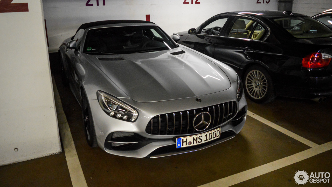 mercedes amg gt c roadster r190 25 februar 2018 autogespot. Black Bedroom Furniture Sets. Home Design Ideas