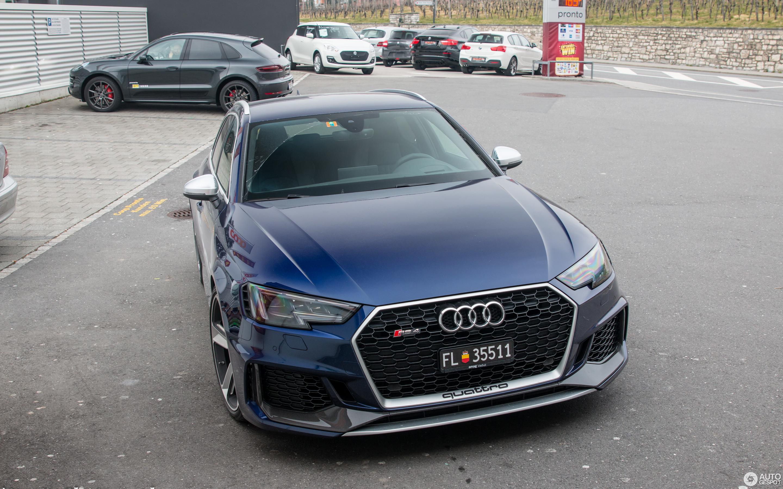 Audi RS Avant B February Autogespot - Audi rs4