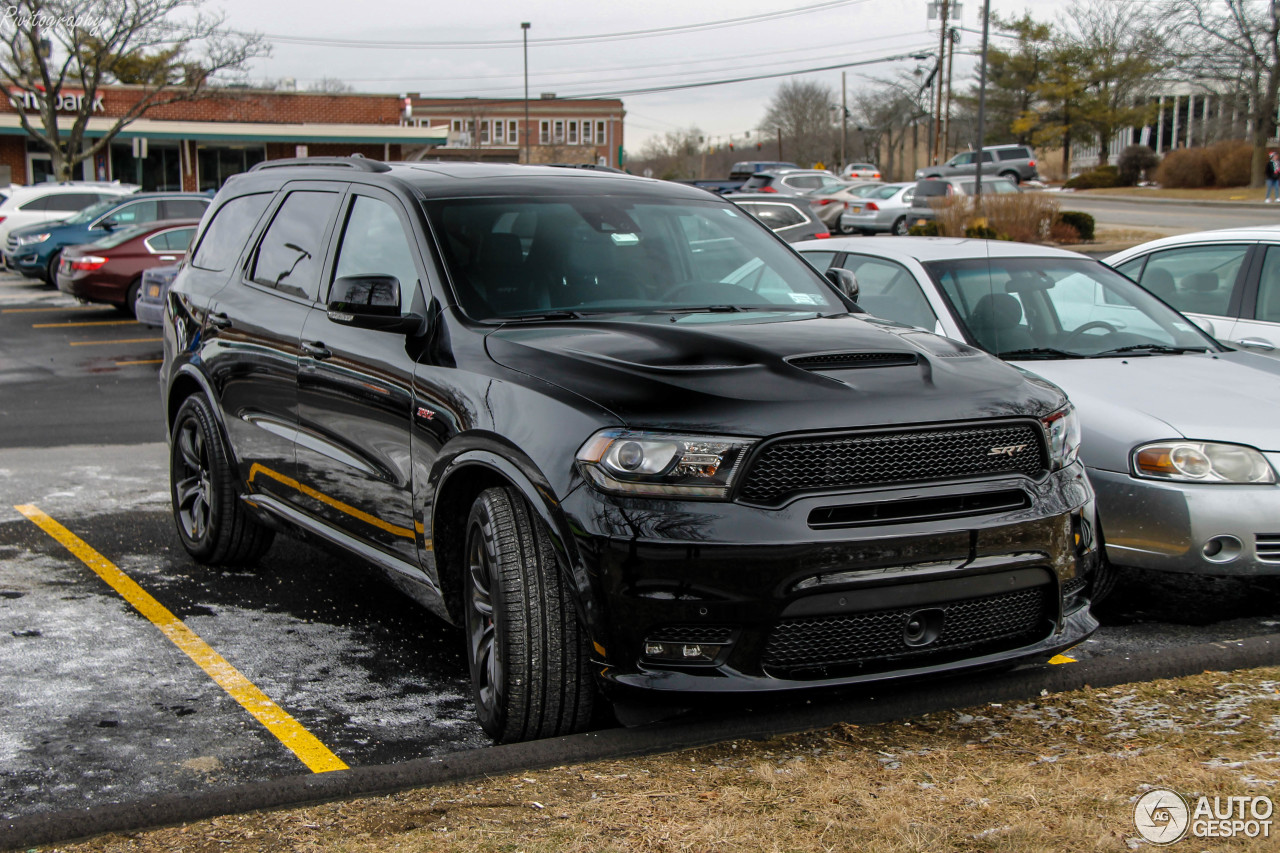 dodge durango srt 2018 26 february 2018 autogespot. Black Bedroom Furniture Sets. Home Design Ideas