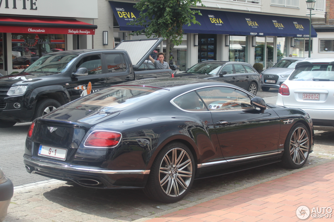 bentley continental gt speed 2016 27 february 2018 autogespot. Black Bedroom Furniture Sets. Home Design Ideas
