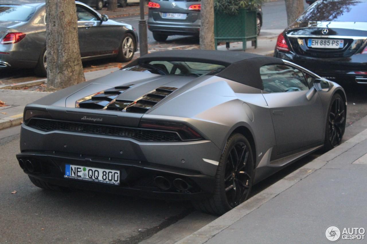 Lamborghini Hurac 225 N Lp610 4 Spyder 27 February 2018