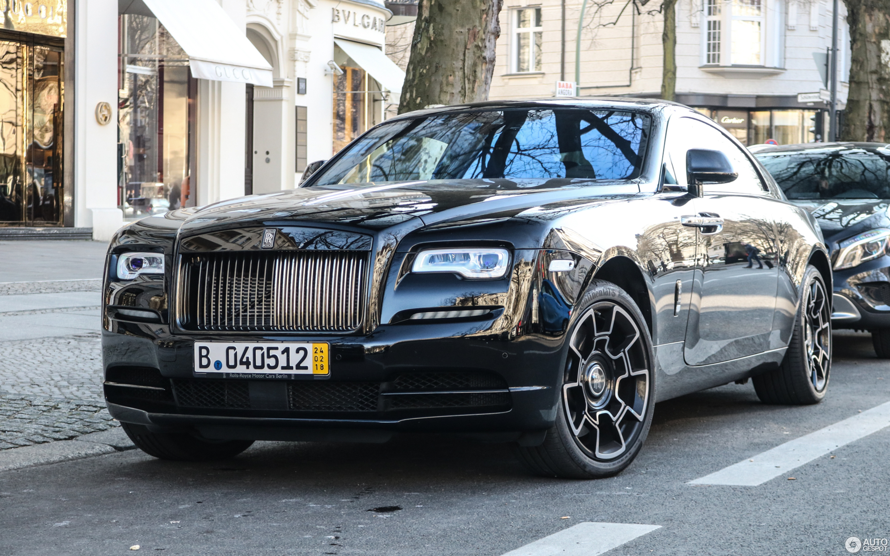Rolls Royce Wraith Black Badge 27 February 2018 Autogespot