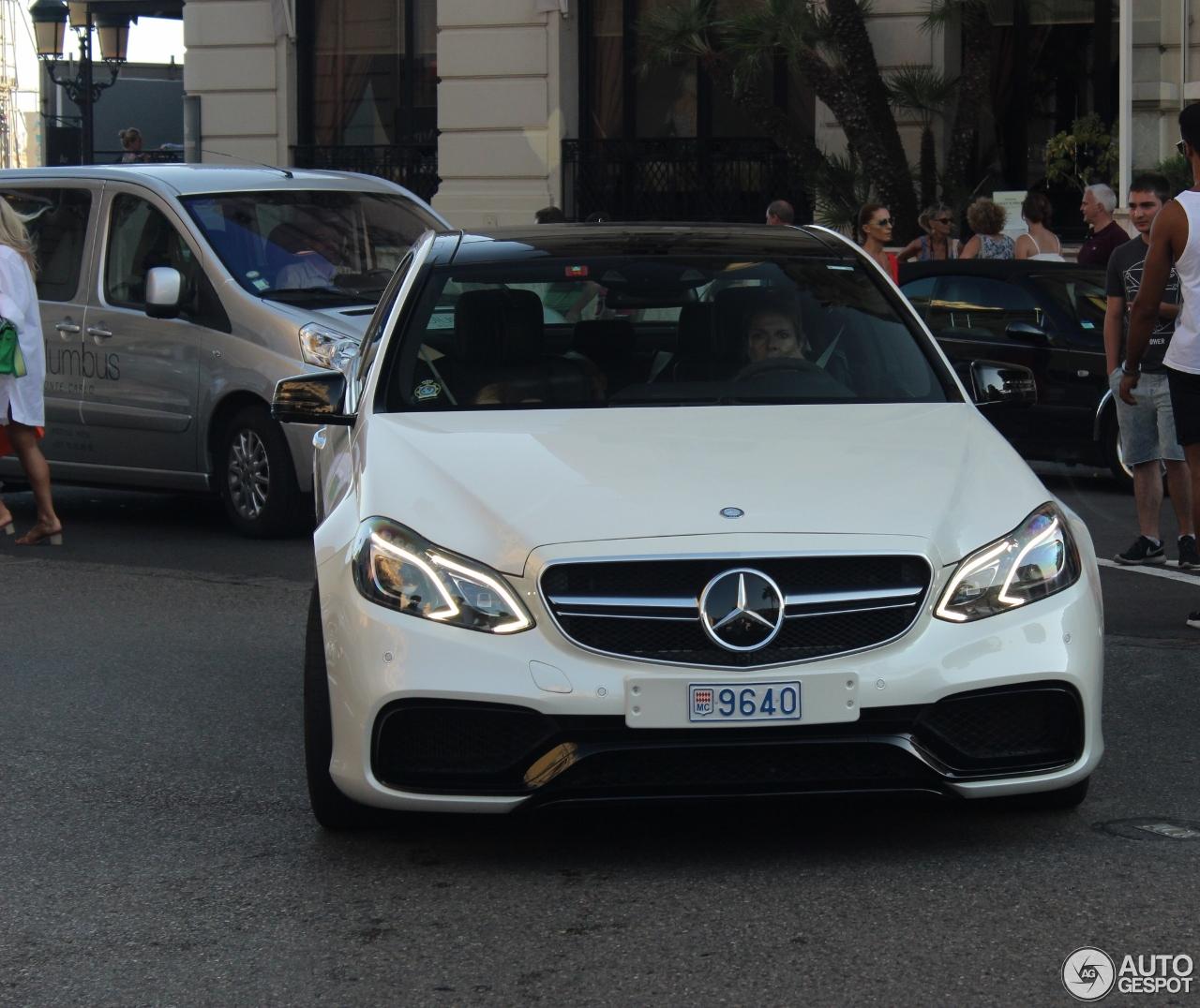 2018 Mercedes Amg E 63 S 4matic Sedan White Road: Mercedes-Benz E 63 AMG S W212