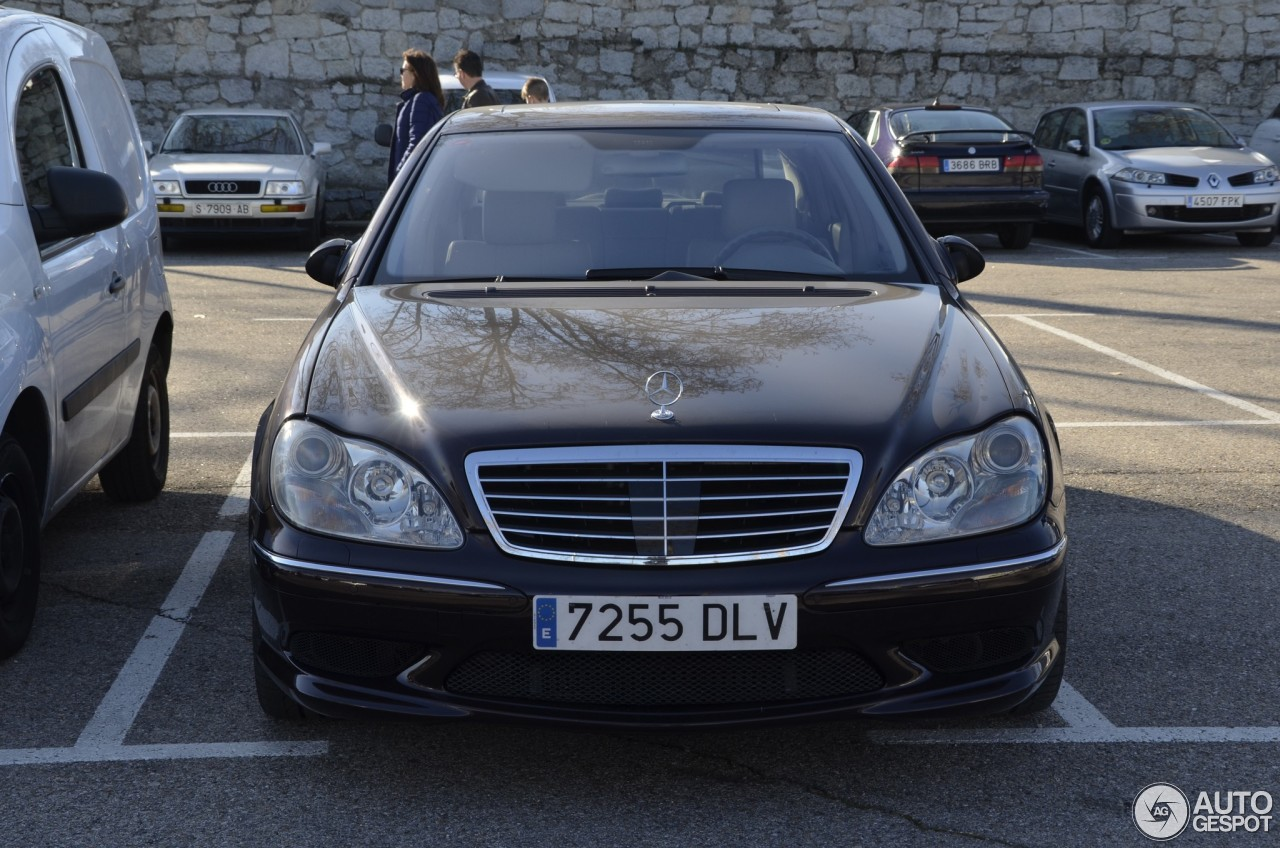 Mercedes benz s 55 amg w220 28 february 2018 autogespot for Mercedes benz s 55