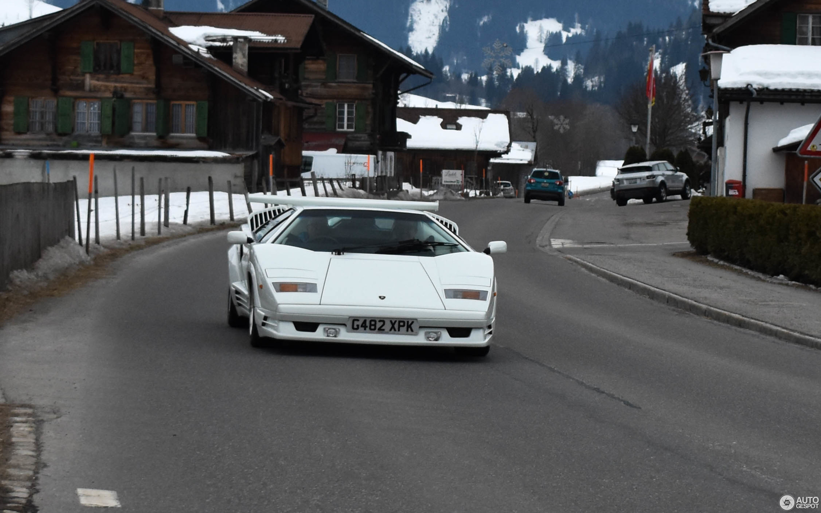 Lamborghini Countach 25th Anniversary 28 February 2018