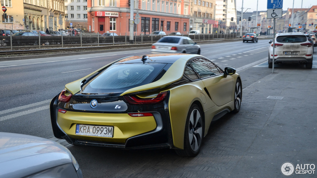 bmw i8 protonic frozen yellow edition 4 march 2018 autogespot. Black Bedroom Furniture Sets. Home Design Ideas