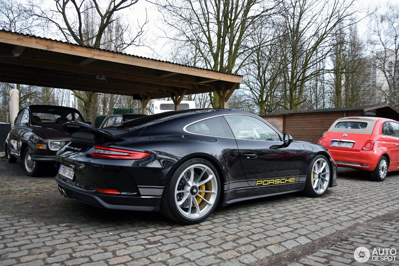 porsche 991 gt3 mkii touring 4 march 2018 autogespot. Black Bedroom Furniture Sets. Home Design Ideas