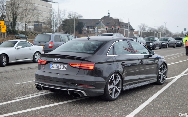 Audi RS3 Sedan 8V - 5 March 2018 - Autogespot
