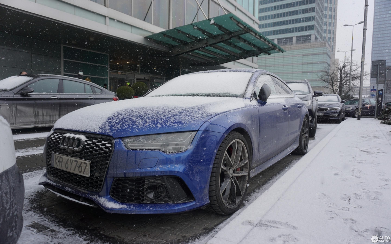 Audi RS Sportback March Autogespot - Audi rs7