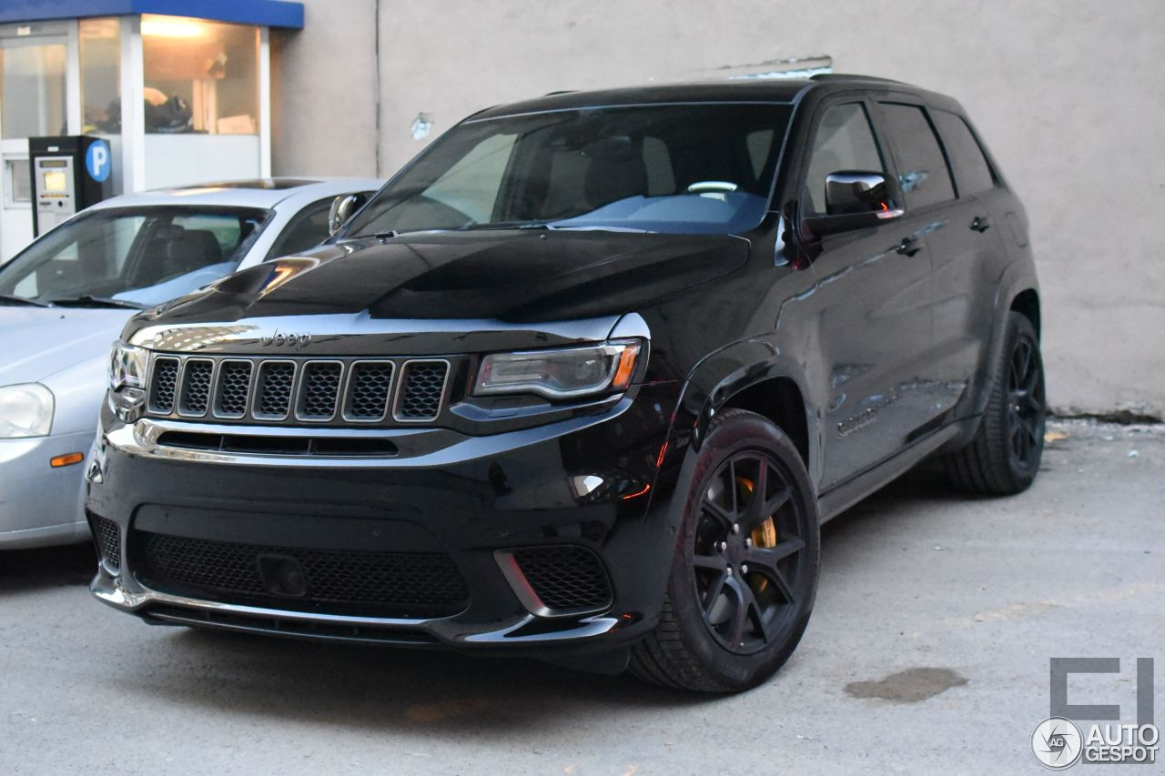 jeep grand cherokee trackhawk 7 march 2018 autogespot. Black Bedroom Furniture Sets. Home Design Ideas