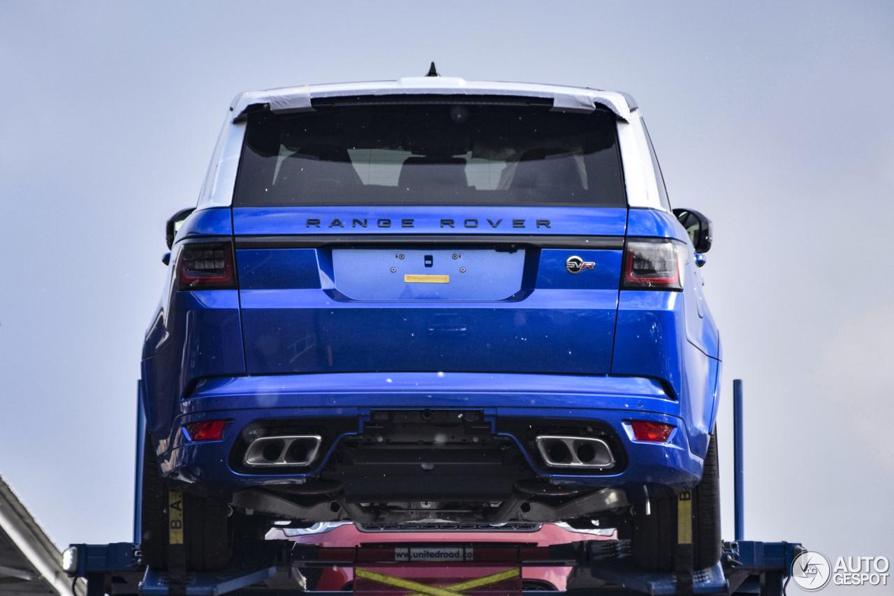 Land Rover Range Sport Svr 2018