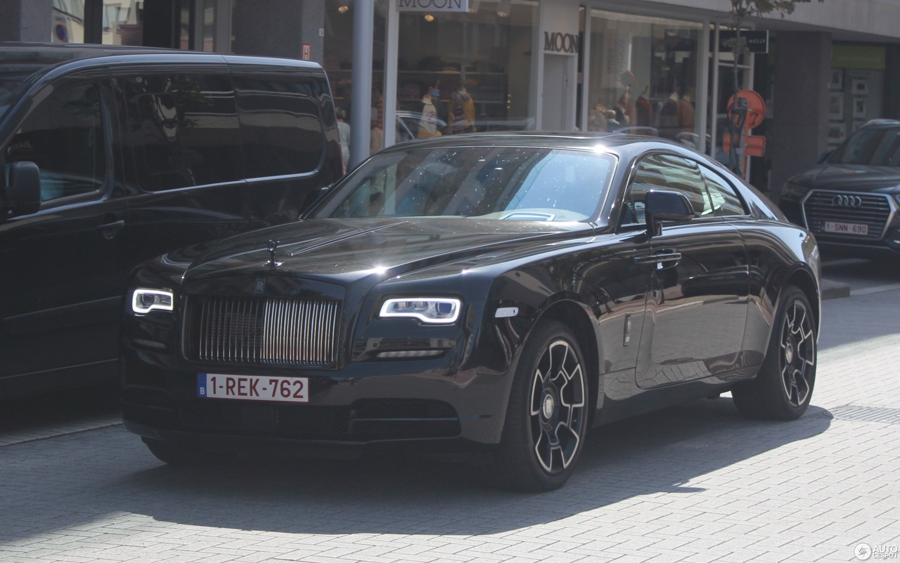 Rolls Royce Wraith Blacked Out