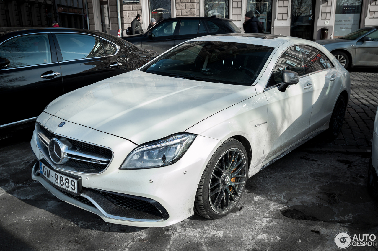 Mercedes benz cls 63 amg s c218 2015 8 march 2018 for 08 mercedes benz