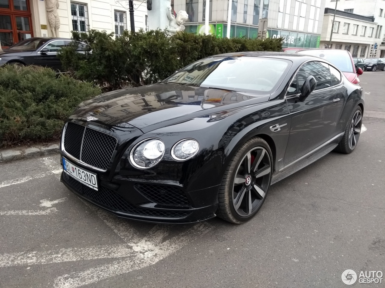 bentley continental gt v8 s 2016 9 mrz 2018 autogespot. Black Bedroom Furniture Sets. Home Design Ideas