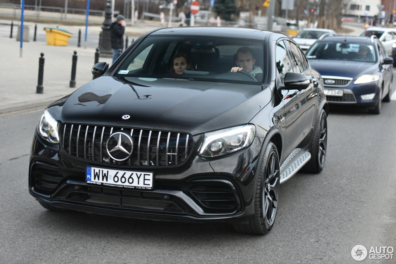 mercedes amg glc 63 s coupe c253 2018 10 march 2018 autogespot. Black Bedroom Furniture Sets. Home Design Ideas