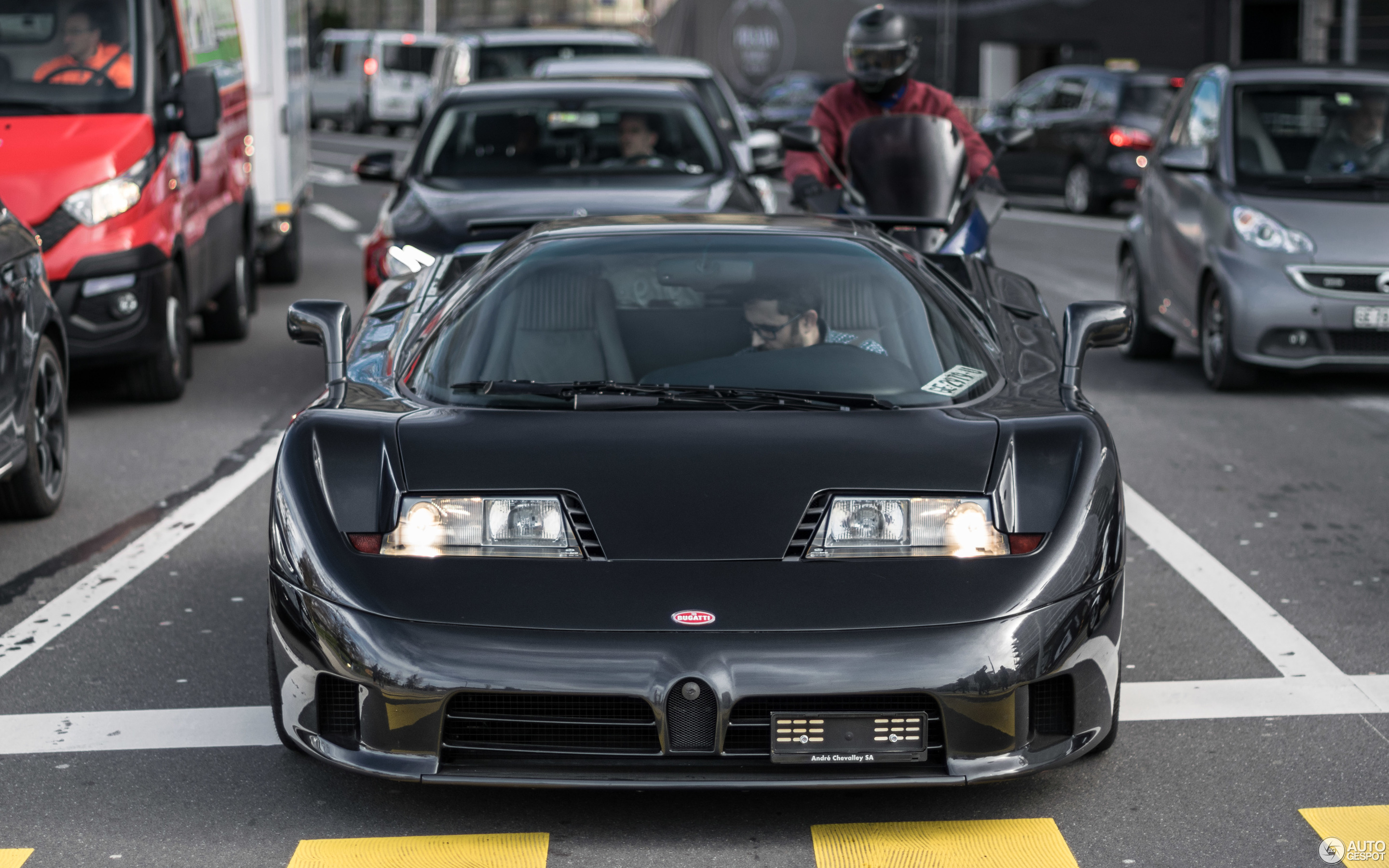 Bugatti EB110 GT - 10 March 2018 - Autogespot