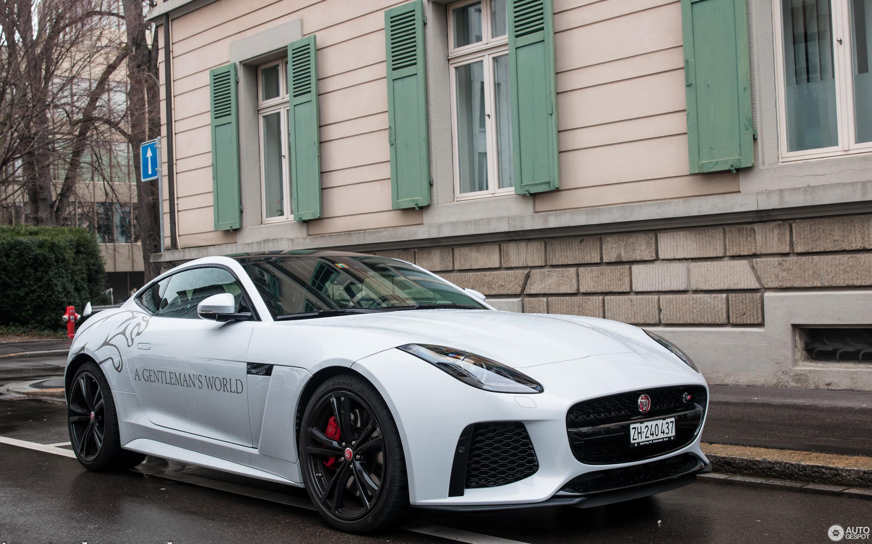jaguar f-type svr coupé - 10 march 2018 - autogespot