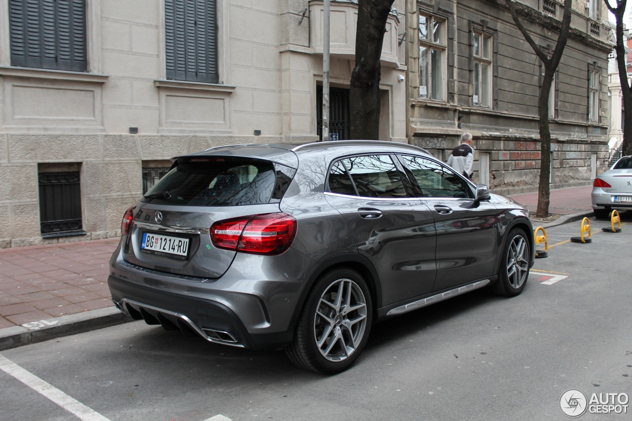 mercedes amg gla 45 x156 2017 11 march 2018 autogespot. Black Bedroom Furniture Sets. Home Design Ideas