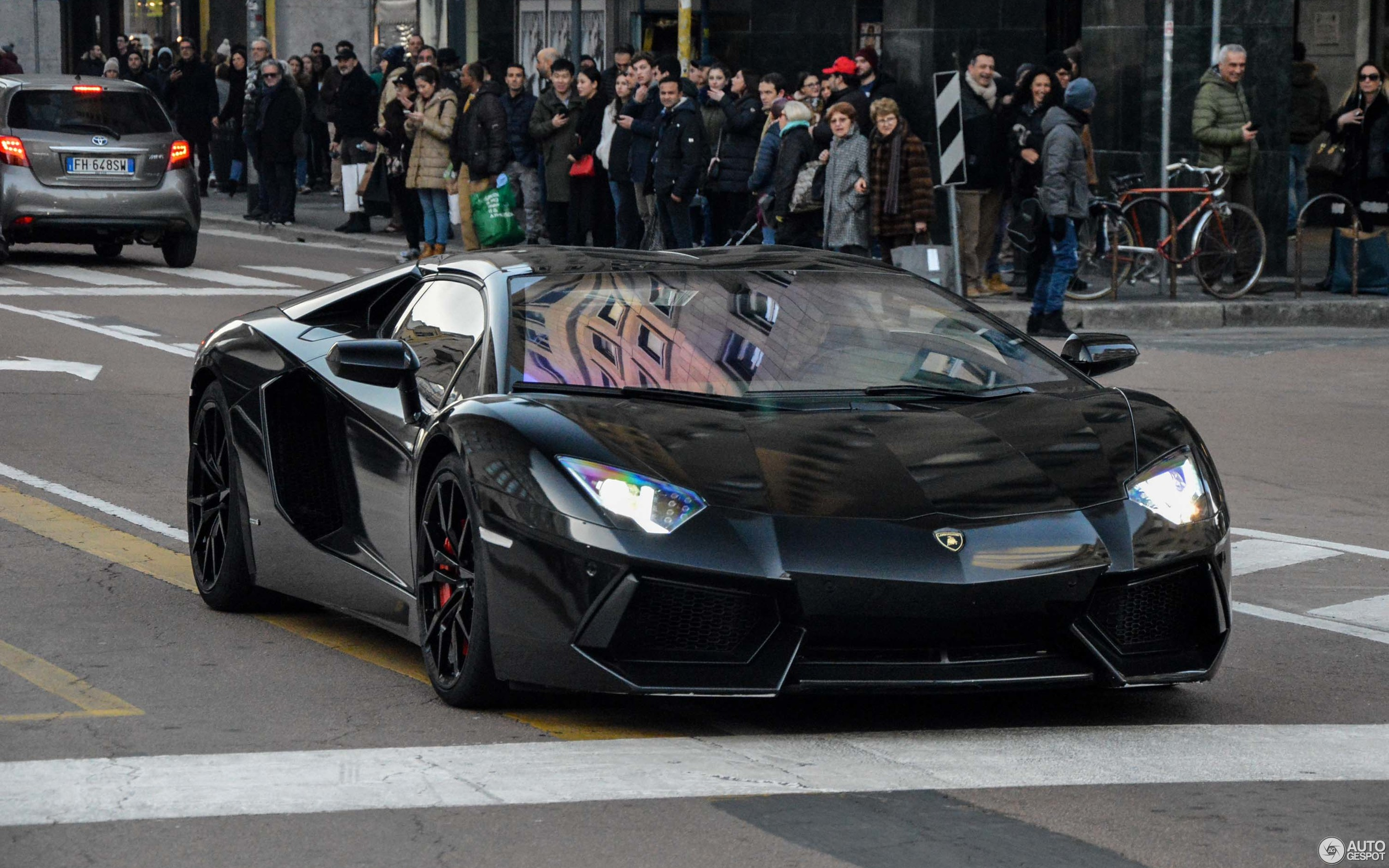 Lamborghini Aventador Lp700 4 Roadster 11 March 2018 Autogespot