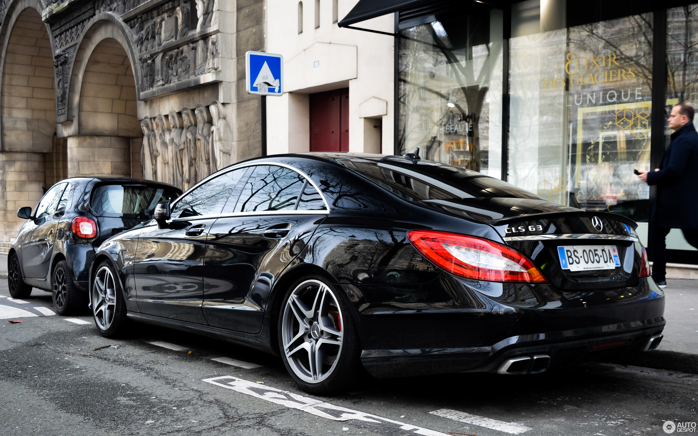 mercedes benz cls 63 amg c218 12 mrz 2018 autogespot. Black Bedroom Furniture Sets. Home Design Ideas